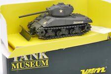 TANK MUSEUM VEREM SOLIDO 1/50 CHAR TANK SHERMAN M4 A3 76 ILLINOIS #VSM60