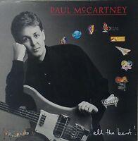 PAUL McCARTNEY~ALL THE BEST~20 GREAT TRACKS~PMTV1~UK VINYL 2LP
