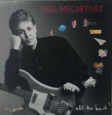 PAUL McCARTNEY~ALL THE BEST~20 GREAT TRACKS~PMTV1~UK VINYL 2LP