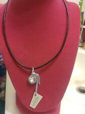 Touchstone Swarovski crystal necklace New