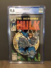 Incredible Hulk #344 CGC 9.6 (1988) - Leader appearance - Todd McFarlane Cover!