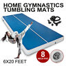 20Ft Airtrack Inflatable Air Track Floor Home Gymnastics Tumbling Mat GYM+Pump