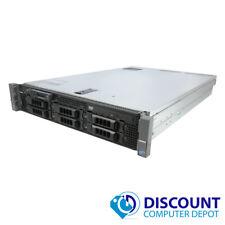 Dell PowerEdge R710 2x Intel Xeon E5620 2.40Ghz Quad Core 48GB 3x300GB 15k SAS