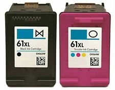 2PK HP61XL Black &Color Ink Cartridges for HP Deskjet 1000 1050 1051 2050 Series