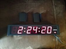 Pre-owned Leitch DTD-5225 Red LED Digital SMPTE/EBU Timecode Clock