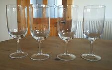 4x Large Stemmed Wine Water Glasses