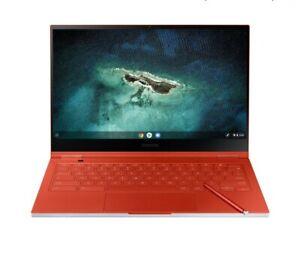 NEW Samsung Galaxy Chromebook UHD AMOLED i5-10210U (256GB , 8GB RAM) Fiesta Red