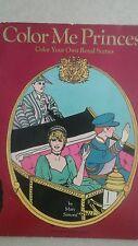 Princess Diana: COLOR ME PRINCESS ROYAL COLORING BOOK 1982