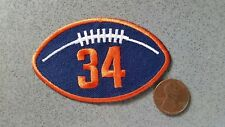 Two (2) Walter Payton Patch Patches 1999 NFL Chicago Bears Football RARE