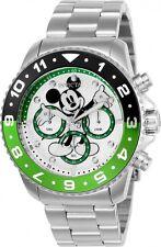 Invicta Hombres Disney Cronógrafo Cuarzo Acero Inoxidable 200m Reloj 24953
