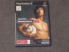 World Soccer Winning Eleven 6 PS2 NTSC-J Complete Japanese Import Japan