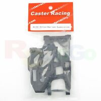 CASTER RACING ZX-0021-FR FRONT & REAR LOWER SUSPENSION ARMS (ZX-1 BUGGY PARTS)