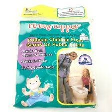 Potty Topper Disposable Toilet Seat Cover Travel Pack 8 Count