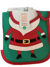 Just One You Carter's Christmas Teething Bib Santa Claus Holiday Stocking Stuff