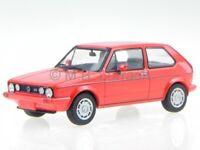 VW Golf Rabbit 1 GTI Pirelli red diecast model car 400055170 Minichamps 1/43
