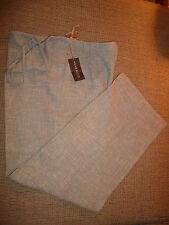 NWT $245 Anne Klein Lounge Pants Drawstring only no elastic  Wool &  Cotton