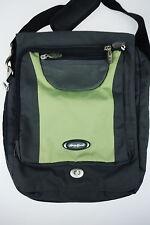 EDDIE BAUER Purse Shoulder Crossbody School Bag Expandable Travel Green Gray