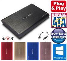 "USB3.0 2.5"" External SATA HDD Hard Disk Drive Enclosure Case Caddy USB 3.0 Metal"