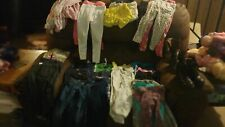 29 pc Lot Girls Clothing Size 4T Kids Clothes Girl Pants shorts pjs carter shoes