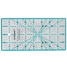 "Le Summit 4 Inch X 8 Inch Patchwork Quilting Ruler Clear Acrylic Ruler 4""X8"""
