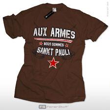 Aux armes nous sommes Sankt Pauli Fan T-Shirt St. Pauli Hamburg S-3XL