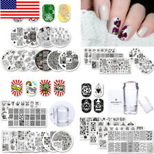 BORN PRETTY Nail Stamping Plates Nail Art  Templates Stencil DIY Lot