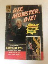 Vintage March 1966 Die, Monster, Die! Comic Issue No. 12-175-603 Boris Karloff