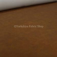 Invecchiato Heritage in finta pelle scamosciata in similpelle di qualità tappezzeria stoffa VECCHIO Tan Finish