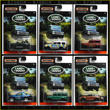 Matchbox 2016 Land Rover Set of 6 SUV's Evoke SVX Ninety Discovery Defender New