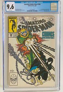 AMAZING SPIDER-MAN #298 - 1st Todd McFarlane Art / 1st Eddie Brock Venom CGC 9.6