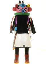"Hopi VINTAGE Velvet Shirt Kachina Doll Large 21"" 1950's Navan Katsina"