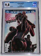 Suicide Squad 1 CGC 9.8. Bermejo Variant. Harley Quinn. 1st Zoe Lawton New 52.