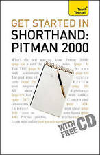 NEW Get Started In Shorthand Pitman 2000 (Teach Yourself) by Pitman Publishing