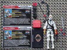 GI Joe 50th Anniversary Cobra Storm Shadow action figure 2 pack