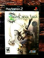 Shin Megami Tensei: Digital Devil Saga - PS2 Sony PlayStation 2 Brand NEW Sealed