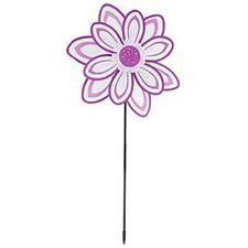Ultimate Innovations Flower Petal Nylon Wind Spinner - Purple