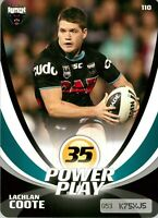 ✺New✺ 2013 PENRITH PANTHERS NRL Card LACHLAN COOTE Power Play