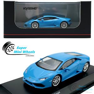 Kyosho 1:64 Lamborghini Huracan Coupe Light Blue Diecast Model