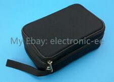 US Ship Double Layer Zipper Carrying Case / Bag for Multimeters UT61E Fluke 87V