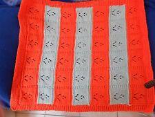 couverture fait main compatible landau ou berceau pour poupée de 45cm