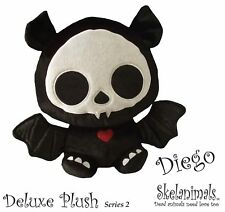 Skelanimals Diego Bat Deluxe 6-Inch Plush- New with Tags