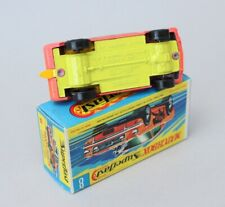 Matchbox Lesney Superfast MB 8 Ford Mustang Wildcat Dragster - RARE Yellow Base
