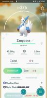 Pokemon | Shiny Zangoose | GO Mini Account | PTC |