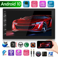 Double 2 Din Android 10.0 Car Stereo GPS AUX USB FM Radio Head Unit MP5 Player