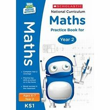National Curriculum Maths Practice Book for Year 2 by Scholastic (Paperback,...