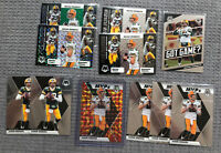 (11) 2020 Mosaic Aaron Rodgers Silver Got Game MVPs Good Reactive Green Parallel