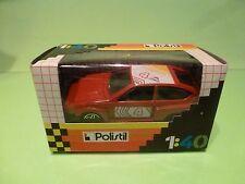 POLISTIL E2024 ALFA ROMEO ALFETTA GT TURBO - RED 1:40 - EXCELLENT IN BOX