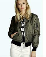 Fashion Womens Ladies Long Sleeve Casual Zipper Jacket Coat Outwear Coats Blouse