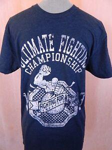 UFC Navy Crew Neck T-shirts