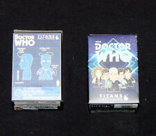 LOT OF 2 DOCTOR WHO TITANS VINYL ACTION FIGURES DOCTORS BLIND BOX